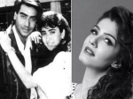 When Ajay Devgn Called Raveena Tandon Born Liar Frustrated For Karisma Kapoor