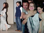 Kareena Kapoor Saif Ali Khan And The Entire Kapoor Family Celebrate Babita Kapoors Birthday