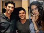 Farhan Akhtar Aditya Roy Kapur Hug It Out See Their Picture No Fight Over Shraddha Kapoor