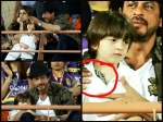 Ipl 2017 Kolkata Knight Riders Beats Gujrat Lions Shahrukh Khan Abram Spotted At The Match Pictures