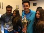 Riya Sen Attends Bollywood Vs Mps Cricket Match In Dharamsala View Pics