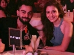 Pictures Of Virat Kohli And Anushka Sharma At Royal Challengers Bangalore Event