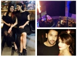 Adaa Khan Celebrates Her Birthday Mouni Roy Shashank Vyas Arjun Bijlani Tv Actors Wish Adaa