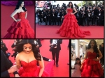 Aishwarya Rai Bachchan Second Outing At Cannes Red Carpet In Red Gown See New Pictures