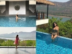 Lisa Ray Chilling In A Swimsuit Will Make Your Monday Blues Vanish