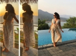 Natures Child Lisa Ray Holidays In Peace And Does Yoga By The Waters