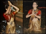 Kangana Ranaut Takes Dips In Ganges During The Poster Launch Of Manikarnika See Pictures