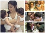 Mouni Roy Shweta Tiwari Nia Sharma Surbhi Jyoti With Karanvir Babies Pics Will Make You Go Aww
