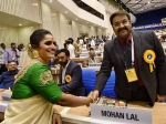 Mohanlal Receives Standing Ovation At The 64th National Film Award Ceremony