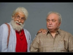 Not Out First Look A Grumpy Rishi Kapoor Does Not Look Pleased With His Dad Amitabh Bachchan