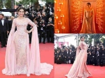 Cannes Sonam Kapoor Is A Rosy Charm On The Red Carpet See All The Pictures