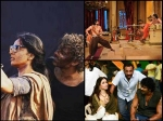 Rare Unseen Behind The Scenes Pictures Of Prabhas Rana Anushka Baahubali Baahubali 2 Sets