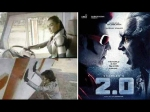 Robo 2 0 Pictures Leaked Amy Jackson In A Robotic Avatar And Rajinikanth In An Action Scene