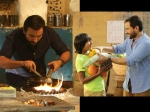 Chef First Look Saif Ali Khan Cooks Up A Storm In The Kitchen Is A Doting Dad As Well