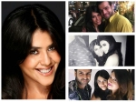 Mouni Roy Divyanka Tripathi Karan Patel Other Tv Actors Shower Wishes Ekta Kapoor Birthday