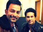 When Prithviraj Met Sachin Tendulkar The God Of Cricket