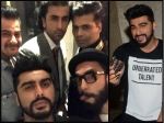 Ranbir Kapoor Ranveer Singh Do No Share Cold Vibes Chill At Arjun Kapoor Birthday Bash Pictures