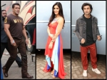 Salman Khan Kisses Katrina Kaif Did It Happen In Front Of Ranbir Kapoor The Trio Spotted Together