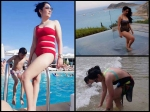 Sanjay Dutt Wife Maanayata Dutt Spotted In A Bikini We Cannot Believe She Is A Mother Of Two Picture