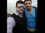 Darshan Thoogudeep Wishes Srujan Lokesh On His Birthday
