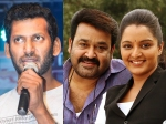 Vishal Is All Praises For Mohanlal And Manju Warrier