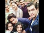 Yeh Rishta Kya Kehlata Hai Team Mohsin Shivangi Enjoy Shoot Shahrukh Anushka Event Late On Sets