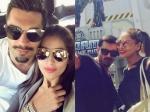 Bipasha Basu And Karan Singh Grover Visit Universal Studios