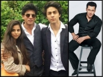 Move Over Shahrukh Khan Salman Khan Gives An Unexpected Gift To Aryan Khan Suhana Khan