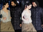 Did Ranveer Singh Say I Love You To Alia Bhatt Makes Her Blush As They Walk Ramp At Icw 2017 Picture