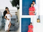 These Dreamy Pictures From Esha Deol S Maternity Photoshoot In Greece Will Leave You Mesmerized