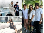 Gauri Khan Shahrukh Khan Spotted Twinning In Los Angeles Bump Into Sridevi See Latest Picture
