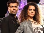 Karan Johar Regrets Insulting Kangana Ranaut At Iifa Awards