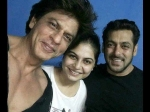 Shahrukh Khan Salman Khan Picture Perfect Moment Is Giving Us Such Happpy Vibes