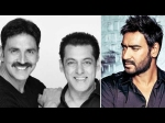 Salman Khan Leaves Akshay Kumar Film For Ajay Devgn