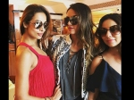 While Shahrukh Khan Skips Iifa 2017 Gauri Khan Spotted In New York With Her Squad