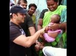 Salman Khan Plays With A Cute Little Baby