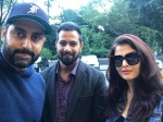 Aishwarya Rai Bachchan Gets Clicked With Abhishek Bachchan See New Picture Their Style Is On Point