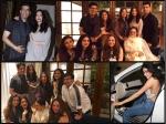 Aishwarya Rai Bachchan Rani Mukerji Caught In One Frame Spotted At Sridevi Birthday Bash Pictures