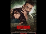 Bhoomi New Poster Sanjay Dutt Is Set To Protect Daughter Aditi Rao Hydari From The Big Bad World