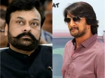 Chiranjeevi And Sudeep To Act Together In A Kannada Movie