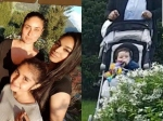 Kareena Kapoor Saif Ali Khan Taimur Switzerland Holiday Pictures