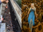 Sunny Leone Becomes The Khaleesi Of Kochi View Pictures