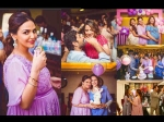 Inside Photos Mom To Be Esha Deol Had A Blast At Her Lavender Themed Baby Shower Here S The Proof