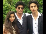 Shahrukh Khan S Kids Aryan And Suhana Make Fun Of Him For Being A Star