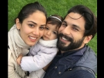 Shahid Kapoor Mira Rajput Share Their First Selfie With Baby Misha London New Picture