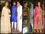 Shahrukh Khan Priyanka Chopra Deepika Padukone Ranveer Singh Spotted At Ambani Ganesh Puja Pictures