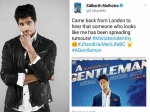 Sidharth Malhotra Has The Perfect Reply For Rumours About Him Being Unhappy With A Gentleman