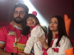 Abhishek Bachchan Pierced His Ears For Aaradhya Bachchan Aishwarya Rai Bachchan