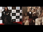 Aishwarya Rai Bachchan Missing From Picture With Shahrukh Khan Gauri Shweta Bachchan Vogue Awards