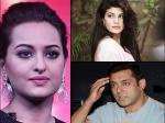 Salman Khan Heard Jacqueline Fernandez Sonakshi Sinha Fighting Dabangg Tour